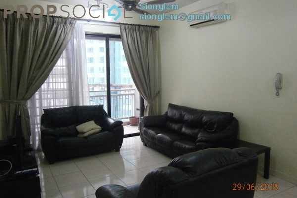For Sale Condominium at Casa Kiara I, Mont Kiara Freehold Fully Furnished 3R/3B 770k