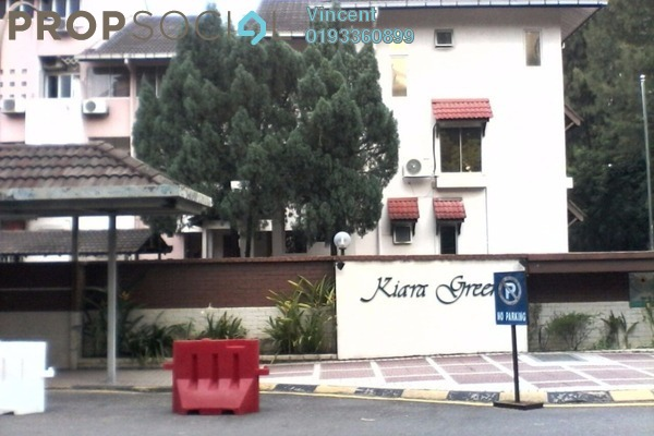 For Rent Townhouse at Kiara Green, TTDI Freehold Fully Furnished 3R/3B 2.2k