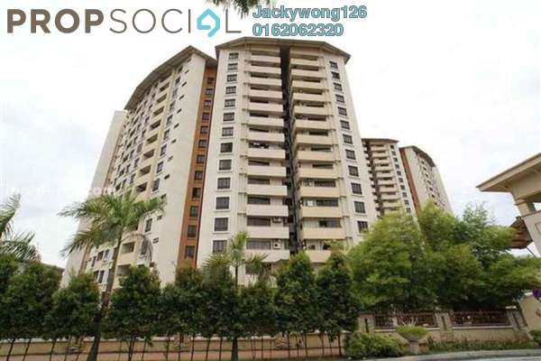 For Rent Condominium at Palm Spring, Kota Damansara Leasehold Fully Furnished 2R/2B 1.6k