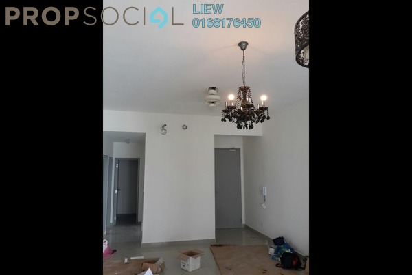 For Rent Condominium at The Wharf, Puchong Leasehold Semi Furnished 3R/2B 1.25k