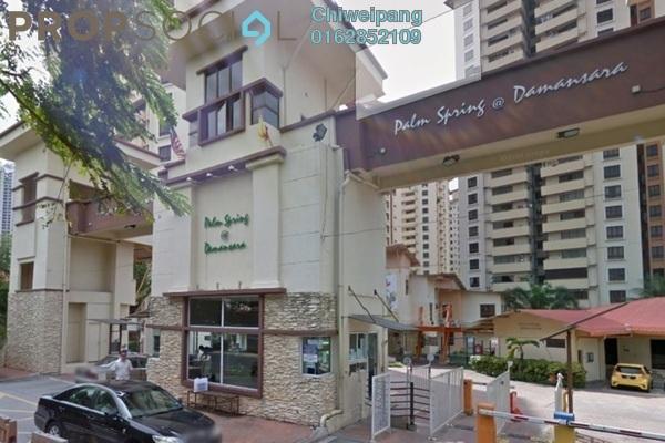 For Rent Condominium at Palm Spring, Kota Damansara Leasehold Semi Furnished 3R/2B 1.6k