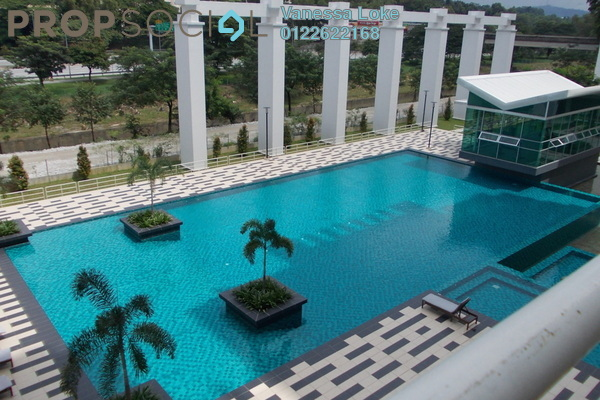 For Sale Condominium at Kiara Residence, Bukit Jalil Leasehold Semi Furnished 4R/3B 700k