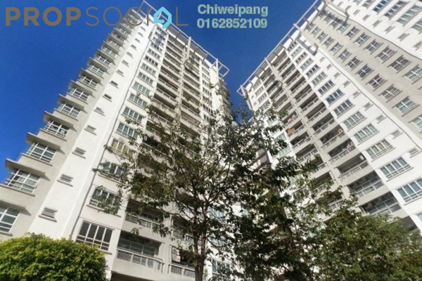 For Rent Condominium at Sterling, Kelana Jaya Leasehold Semi Furnished 4R/2B 2.2千