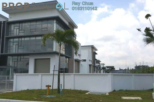 For Rent Factory at Taman Meranti Jaya Industrial Park, Puchong Freehold Unfurnished 0R/0B 17k