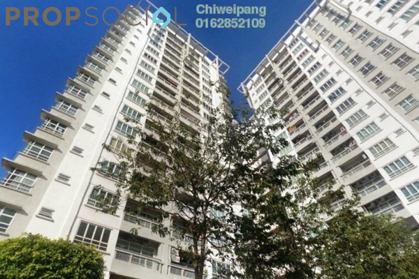For Rent Condominium at Sterling, Kelana Jaya Leasehold Fully Furnished 4R/2B 3.3k