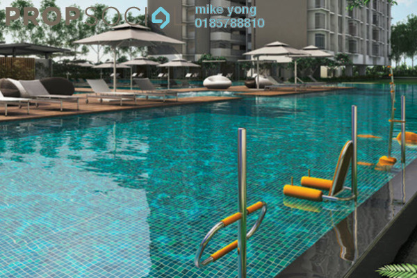 For Rent Condominium at Vina Versatile Homes, Cheras South Freehold Semi Furnished 3R/3B 2.5k