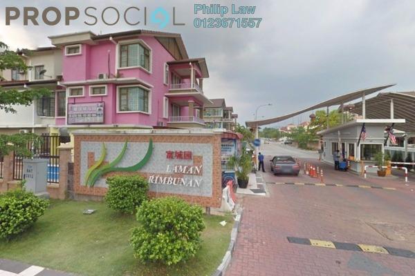 For Sale Terrace at Laman Rimbunan, Kepong Leasehold Semi Furnished 6R/5B 1.28m