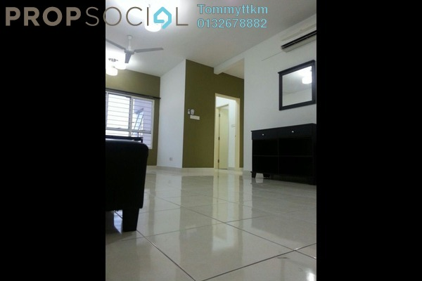 For Rent Condominium at Viva Residency, Sentul Freehold Semi Furnished 2R/2B 2k