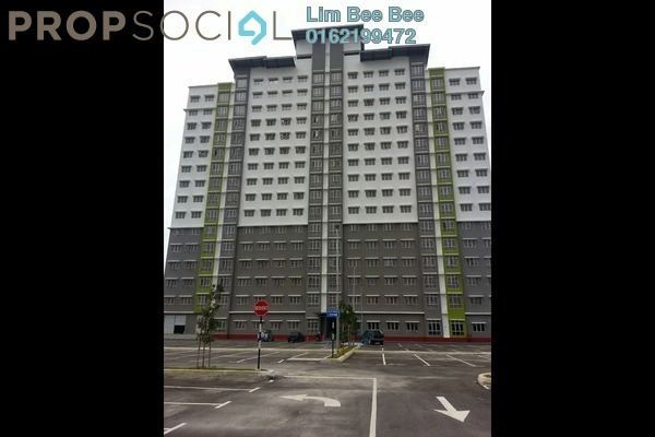 For Rent Apartment at Subang Bestari, Subang Leasehold Semi Furnished 3R/2B 1k
