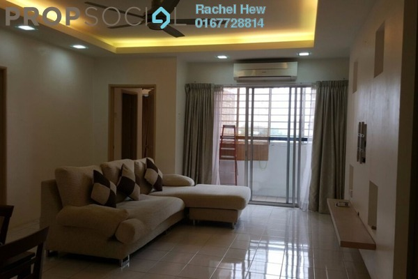 For Rent Condominium at Green Acre Park, Bandar Sungai Long Freehold Semi Furnished 3R/2B 1.7k