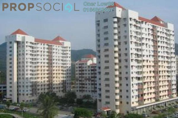 For Sale Apartment at Taman Seri Sari, Relau Freehold Unfurnished 3R/2B 285k