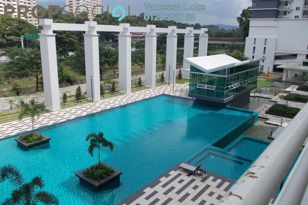 For Rent Condominium at Kiara Residence, Bukit Jalil Leasehold Semi Furnished 3R/2B 1.6k