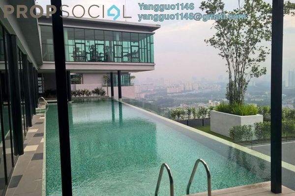 For Rent Condominium at The Leafz, Sungai Besi Freehold Fully Furnished 1R/1B 1.7k