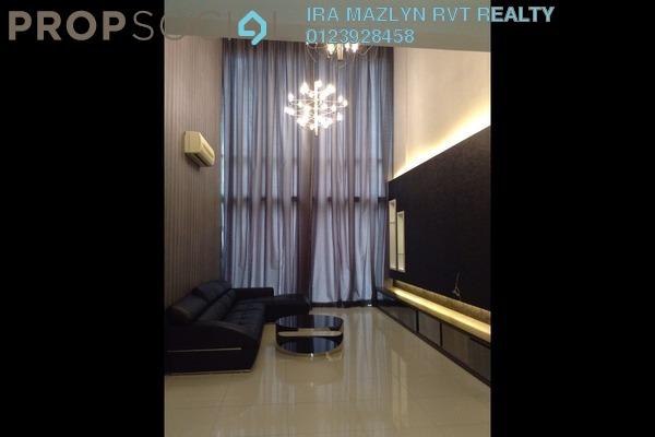 For Rent Duplex at Suasana Sentral Loft, KL Sentral Freehold Fully Furnished 5R/3B 10.8k