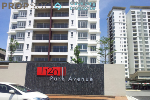For Rent Condominium at 1120 Park Avenue, PJ South Leasehold Semi Furnished 3R/2B 1.6千