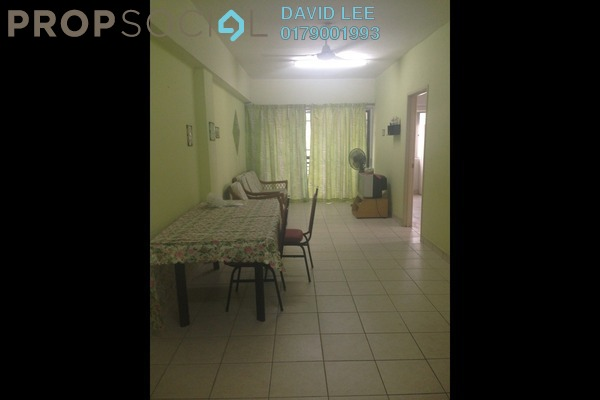 For Rent Apartment at Pelangi Damansara, Bandar Utama Leasehold Fully Furnished 3R/2B 1.3k