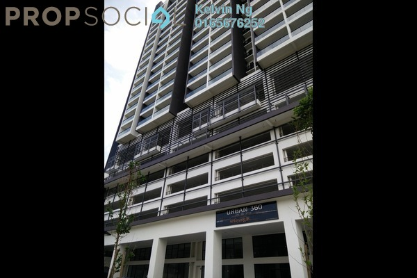 For Rent Condominium at Urban 360, Gombak Leasehold Semi Furnished 3R/2B 1.7k