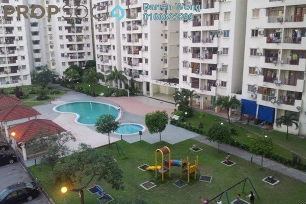 For Rent Apartment at Pandan Court, Pandan Indah Leasehold Semi Furnished 3R/2B 1.1k