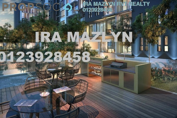 For Sale Condominium at The Ruma, KLCC Freehold Fully Furnished 1R/1B 561k