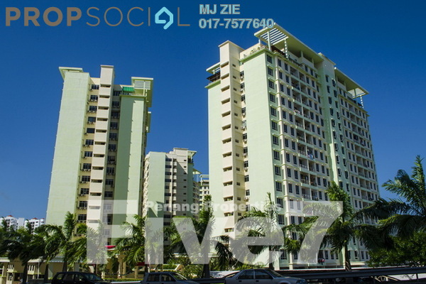 For Sale Condominium at Putra Place, Bayan Indah Leasehold Fully Furnished 3R/2B 580k