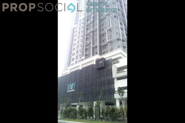 For Sale Serviced Residence at The Wharf, Puchong Leasehold Unfurnished 2R/2B 438k
