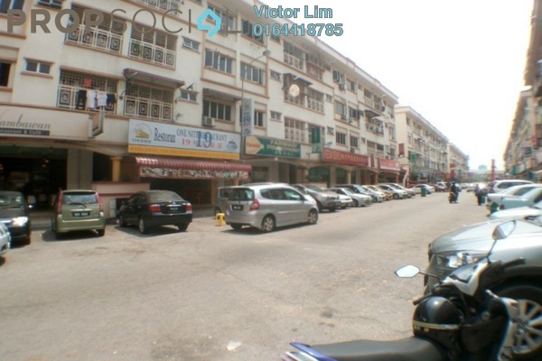 For Rent Apartment at Sri Manja Square, PJ South Leasehold Semi Furnished 3R/2B 1.2k