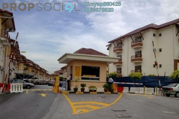 For Sale Townhouse at Andari Townvilla, Selayang Heights Leasehold Semi Furnished 3R/2B 335k