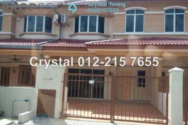 For Sale Terrace at Taman Sri Putra, Sungai Buloh Freehold Semi Furnished 4R/3B 590k