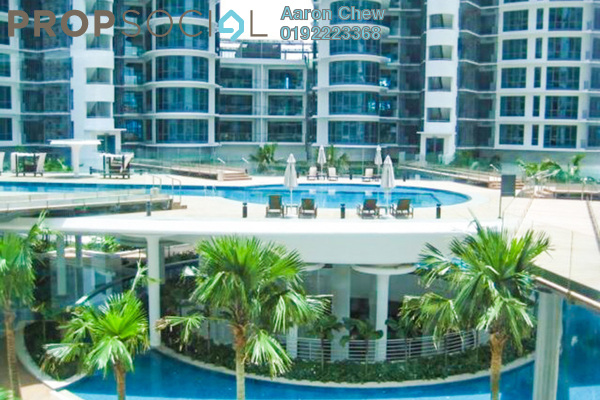 For Rent Condominium at 11 Mont Kiara, Mont Kiara Freehold Semi Furnished 5R/4B 13k