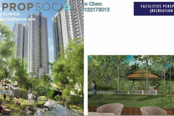 For Sale Condominium at Scenaria, Segambut Freehold Unfurnished 3R/3B 716k