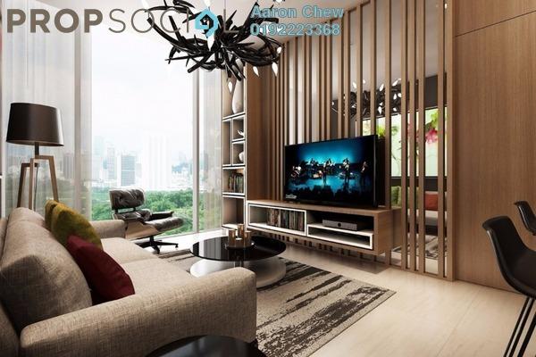 For Sale Condominium at Anggun Residences, Dang Wangi Freehold Semi Furnished 1R/1B 1.12m