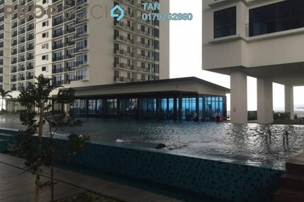 For Rent SoHo/Studio at Trefoil, Setia Alam Freehold Fully Furnished 2R/2B 2.4k