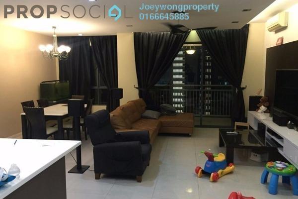 For Sale Condominium at Casa Kiara II, Mont Kiara Freehold Semi Furnished 3R/3B 1.1m