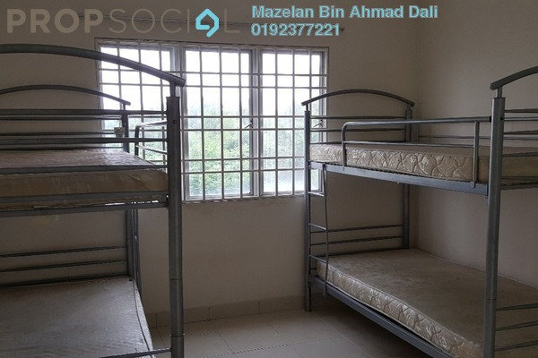 For Rent Apartment at Kristal Heights, Shah Alam Leasehold Fully Furnished 3R/2B 1.6k
