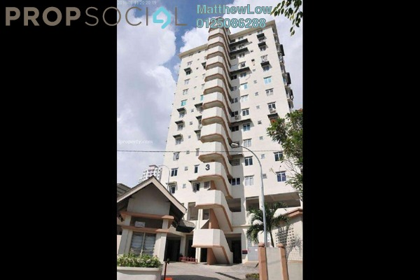 For Rent Apartment at Taman Lebah Hijau, Green Lane Freehold Unfurnished 3R/2B 1.2Ribu