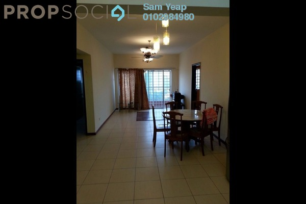 For Sale Condominium at Plaza Medan Putra, Bandar Menjalara Freehold Semi Furnished 4R/2B 430k