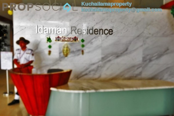 For Sale Condominium at Idaman Residence, KLCC Freehold Fully Furnished 3R/3B 1.6m