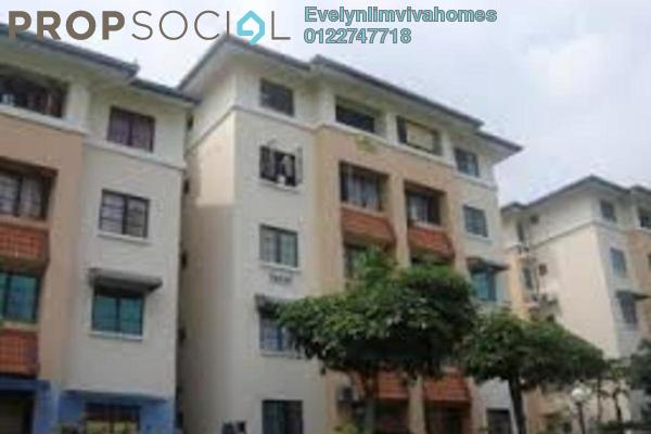 For Sale Apartment at SD Apartments, Bandar Sri Damansara Freehold Unfurnished 3R/2B 290k