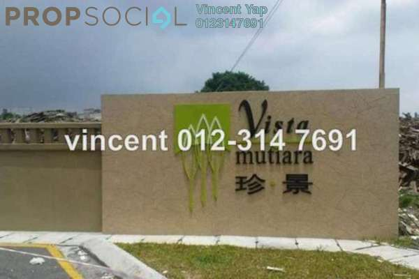 For Sale Condominium at Vista Mutiara, Kepong Leasehold Unfurnished 3R/2B 445k