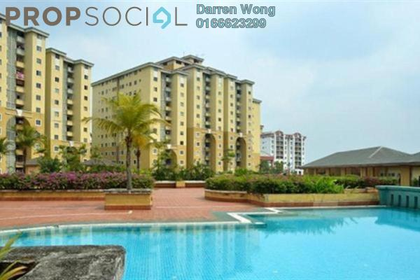 For Sale Condominium at Ketumbar Heights, Cheras Freehold Semi Furnished 3R/2B 288k