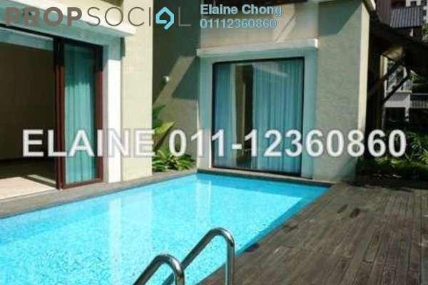 For Rent Bungalow at Villa Mont Kiara, Mont Kiara Freehold Semi Furnished 5R/6B 18k
