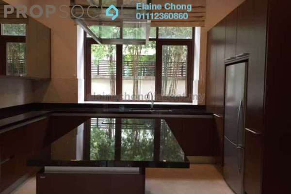 For Rent Bungalow at Kiara Hills, Mont Kiara Freehold Semi Furnished 5R/6B 20k