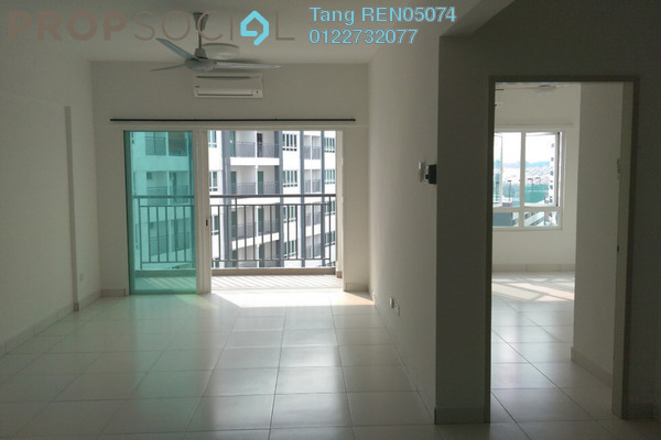 For Rent Condominium at Casa Tropika, Puchong Leasehold Semi Furnished 3R/2B 1.25k