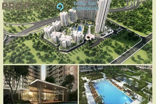 For Sale Condominium at Agile Mont Kiara, Dutamas Freehold Semi Furnished 3R/2B 978k