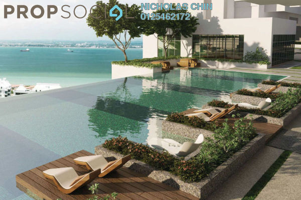 For Sale Condominium at Mont Residence, Tanjung Tokong Freehold Unfurnished 3R/2B 900k