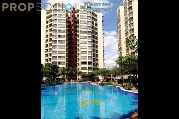 For Rent Condominium at Villa Wangsamas, Wangsa Maju Freehold Semi Furnished 3R/2B 2.2k