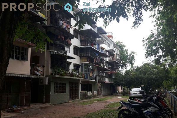 For Sale Apartment at Section 18, Shah Alam Leasehold Unfurnished 3R/1B 150k