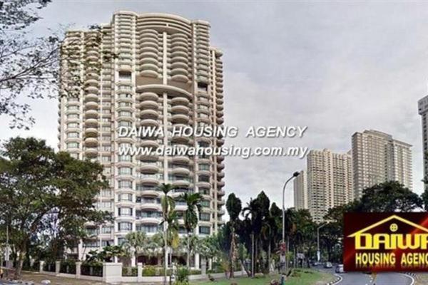 For Rent Condominium at Sri Pangkor, Pulau Tikus Leasehold Fully Furnished 4R/3B 4k