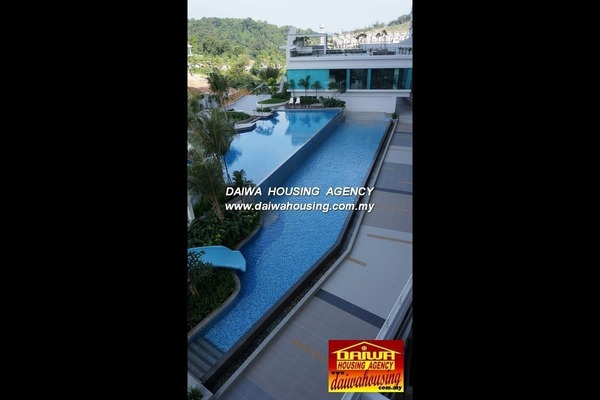 For Rent Condominium at Island Resort, Batu Ferringhi Freehold Fully Furnished 3R/2B 2.8k