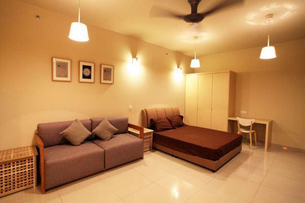 For Rent Condominium at Univ 360 Place, Seri Kembangan Leasehold Fully Furnished 1R/1B 1.5k